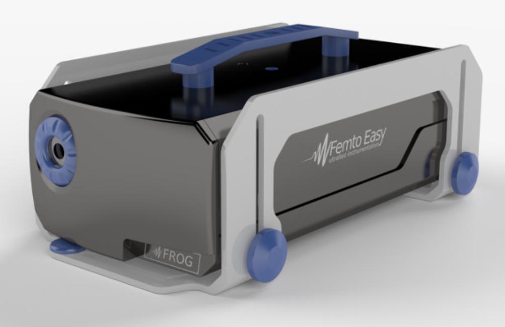 周波数分解光ゲート法 超短パルス測定 FROG製品画像