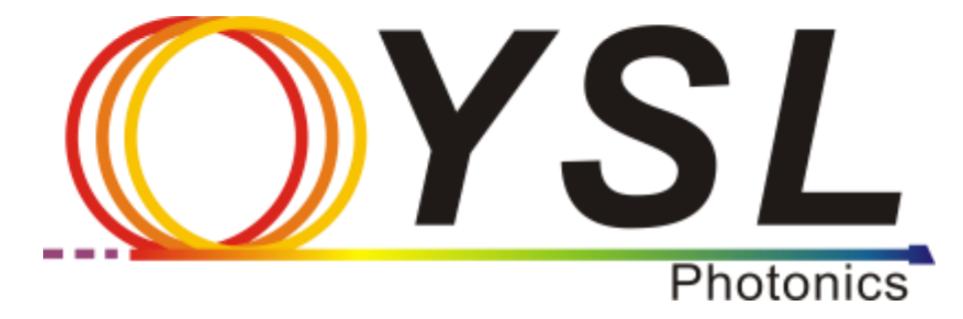 YSL Photonics メーカーロゴ